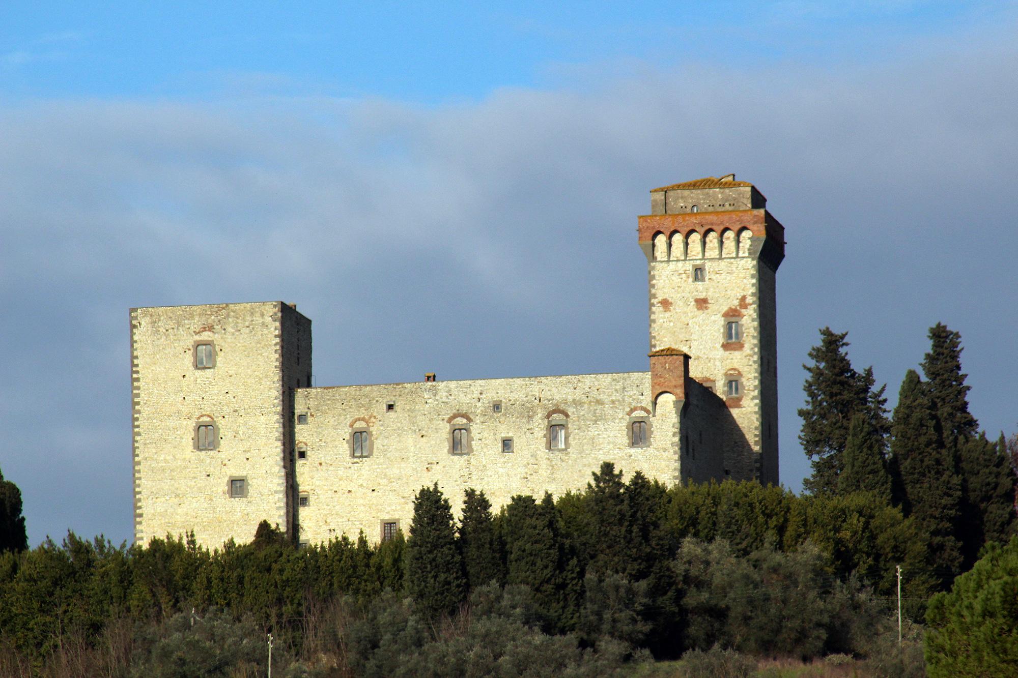 Torre Del Castellano Castellano Tower Leccio Reggello Florence
